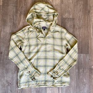 Patagonia cotton hooded pullover!